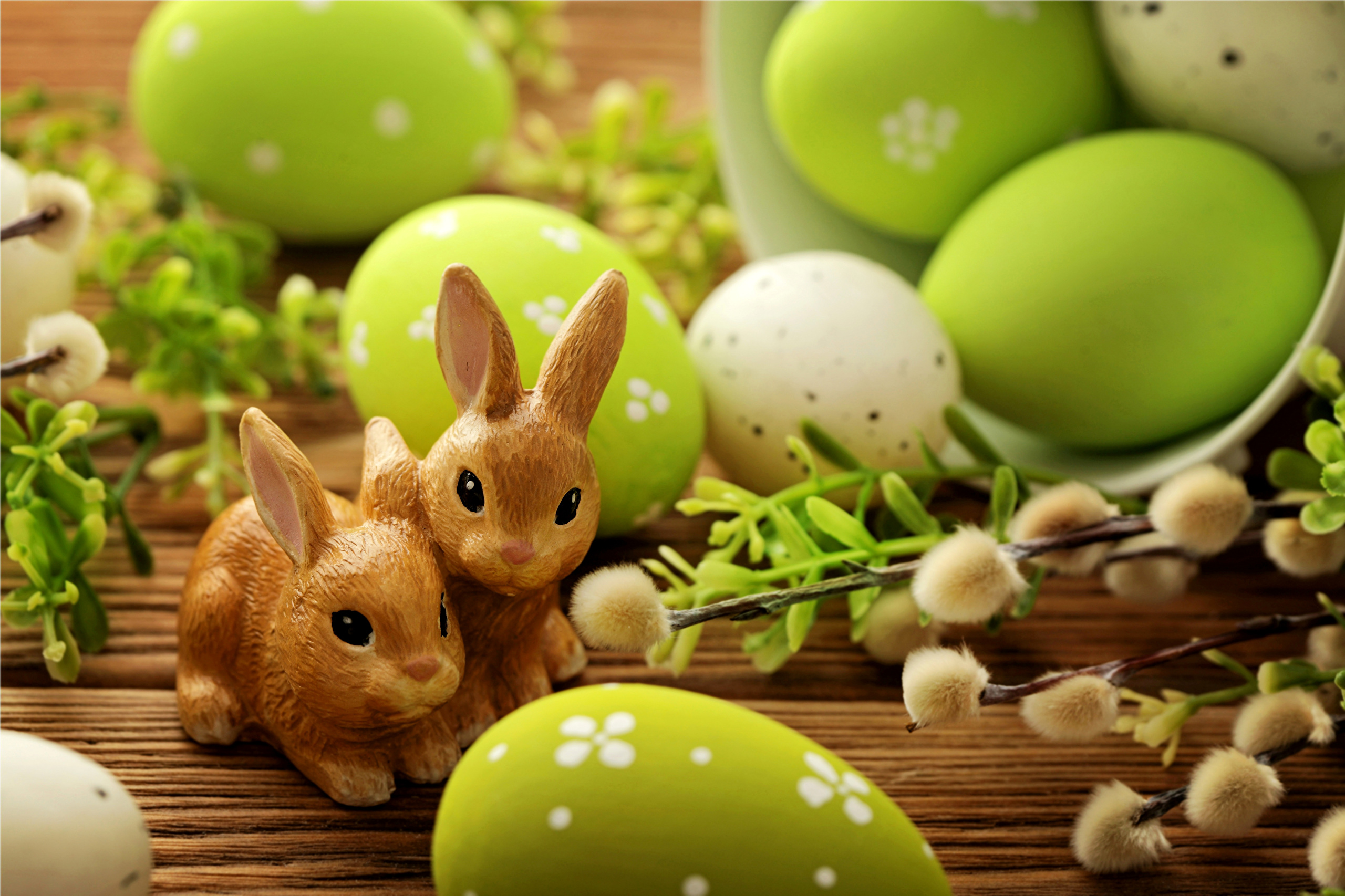 Holidays Easter Rabbits 413523